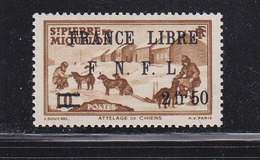 SAINT PIERRE ET MIQUELON FRANCE LIBRE 278 LUXE NEUFS SANS CHARNIERE - Neufs