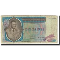 Billet, Zaïre, 10 Zaïres, 1977, 1977-10-27, KM:23a, TB - Zaïre