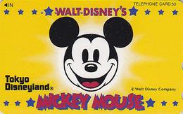 Télécarte JAPON / 110-129209 - DISNEY - DISNEYLAND - Mickey Mouse - JAPAN Phonecard Telefonkarte - Disney