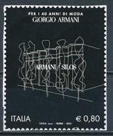 °°° ITALIA 2015 - GIORGIO ARMANI °°° - 6. 1946-.. Republic