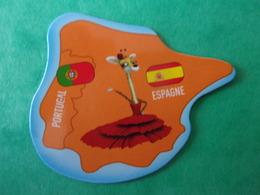 Magnet Brossard Savane Espagne Espana Portugal Girafe Giraffe Jirafa Spain Spanien - Tourisme