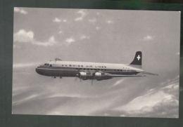 CP - Av. - Douglas DC6B (HB-IBE) - Swissair - 1946-....: Modern Era