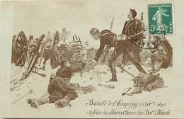 - Dpts Div.- Ref-AR814- Val De Marne - Champigny Sur Marne - Guerre 1870-71 - Defense Four à Chaux - Batterie Blanche - Champigny Sur Marne