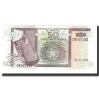 Billet, Burundi, 50 Francs, 2003, 2003-07-01, KM:36c, NEUF - Burundi
