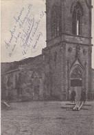 55 SOMMEILLES GUERRE 1914-18 BATAILLE DE LA MARNE.L''EGLISE  + TEXTE DU 18 NOVEMBRE 1915 - Guerre 1914-18