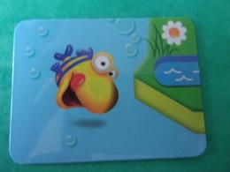 Magnet Pàturages Poisson Fleur Fisch Fish Pez Pesce Flower Flor Blume Fiore - Tourisme