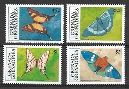 GRENADA GRENADINES  1992  BUTTERFLIES  MNH - Schmetterlinge