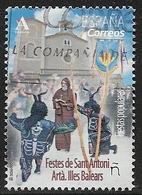 2018-ED. 5201 - Fiestas Populares. Festes De Sant Antoni. Artà. Illes Balears- USADO- - 1931-Hoy: 2ª República - ... Juan Carlos I