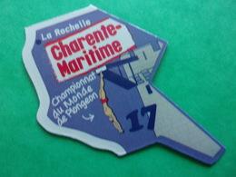 Magnet Charente-Maritime 17 La Rochelle Championnat Du Monde De Plongeon Diving Bucear Tauchen Campeonato De Buceo - Tourisme