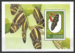 GRENADA GRENADINES  1993  BUTTERFLIES  MNH - Schmetterlinge