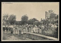 1922  --  LE LANDREAU JOUR DE BATTAGES  3S624 - Vieux Papiers