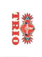 Culemborg, Royal TRIO Sigarenfabriek  (4 X Reclame / Promotie Items Oa Sigarenkistlabels) 4xscan  (tabak) Grafisch Ontw. - Articoli Pubblicitari