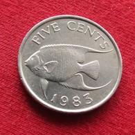 Bermuda 5 Cents 1983 KM# 16 Bermudes Bermudas Bermude - Bermuda