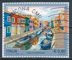 °°° ITALIA 2015 - ISOLA DI BURANO °°° - 6. 1946-.. Republic
