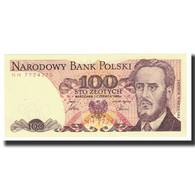 Billet, Pologne, 100 Zlotych, 1986, 1986-06-01, KM:143d, SPL - Pologne