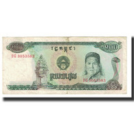 Billet, Cambodge, 100 Riels, KM:36a, TB - Cambodge