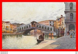 CPA Illustrateur BIONDETTI.  VENEZIA, Ponte Di Rialto...CO 768 - Illustrators & Photographers