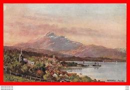 CPA  Illustrateur L.M. SONG.  Paysage. Norway, Molde ...CO 748 - Autres Illustrateurs