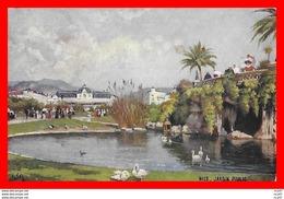 """CPA Raphael Tuck Et Fils """"Oilette"""". NICE. Jardin Public, Cygnes...CO1153 - Illustrateurs & Photographes"""