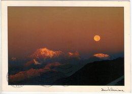 Monte Bianco Al Chiaro Di Luna. VG. - Italy