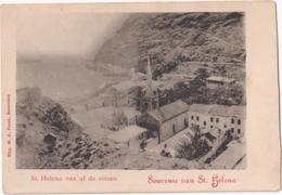 St. Helena Van Af De Rotsen - Souvenir De St. Helena - Saint Helena Island