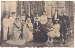 Marriage De LL. AA. RR. De Luxembourg - Le 6 Novembre 1919 - & Royalty - Königshäuser