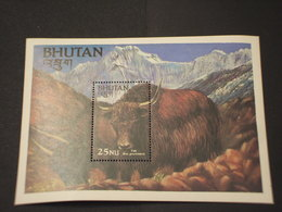 BHUTAN - BF 1984 YAK - NUOVO(++) - Bhutan