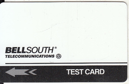 USA - Bellsouth Technical Trial Test Card, Tirage 2000, 08/94, Mint - [3] Magnetic Cards