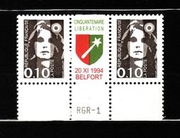 M BRIAT BELFORT 1 N 2617 N**  AF 177 - 1989-96 Bicentenial Marianne