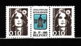 M BRIAT BELFORT 2 N 2617 N**  AF 178 - 1989-96 Bicentenial Marianne