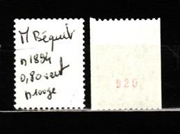 BEQUET  N 1894 N Rouge N**  AF 184 - 1971-76 Marianne (Béquet)