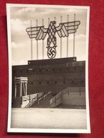 Propagandakarte WW2 Zeppelinfeld Hoheitszeichen Nürnberg Ca. 1935 - Guerra 1939-45