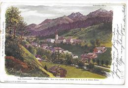 KÜNSTLER AK REISCH, MERAN -  FIEBERBRUNN   ~ 1900 - Fieberbrunn