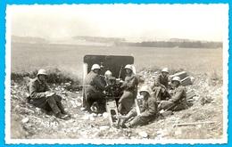 CPA AK Suisse Carte Photo Egll (Egli ?) Photo-Hall Kaserne THUN BE Berne ** Militaire MILITARIA Artillerie Armée - BE Berne