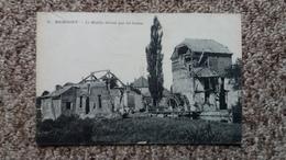 CPA RUMIGNY ARDENNES LE MOULIN DETRUIT PAR LES BOCHES 1919 - Frankreich
