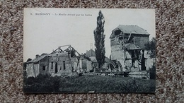 CPA RUMIGNY ARDENNES LE MOULIN DETRUIT PAR LES BOCHES 1919 - Andere Gemeenten