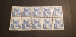 Maroc Yvert 346** Bloc De 10 - Maroc (1891-1956)