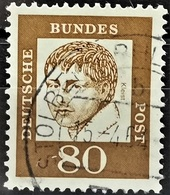 1961 Heinrich Von Kleist Gestempelt MiNr: 359y - [7] République Fédérale