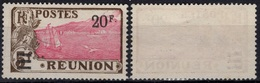 REUNION   108 (*) No Gum Ville De Sainte-Rose Et Volcan Piton De La Fournaise - Sans Gomme (CV 21 €) - Reunion Island (1852-1975)