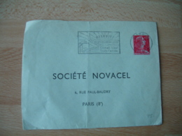 Repiquage  Societe Novacel Entier Postal Enveloppe - Entiers Postaux