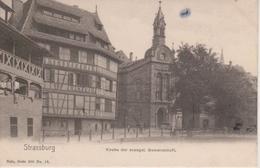 67 - STRASBOURG - KIRCHE DER EVANGELIQUE GEMEINSCHAFT - NELS SERIE 300 N° 16 - Strasbourg