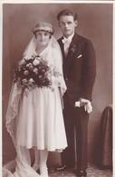 AK Foto Brautpaar Hochzeit - Ca. 1930 (47809) - Hochzeiten