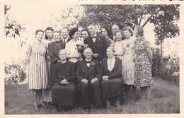 AK Foto Hochzeit Gruppenbild - Ca. 1930/50 (47810) - Hochzeiten