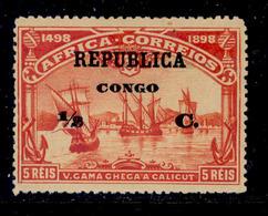 ! ! Congo - 1913 Vasco Gama On Africa 1/2 C - Af. 76 - MH - Congo Portugais