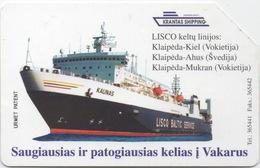 Lituanie Telekomas : Lisco Baltic Service KAUNAS - Boats