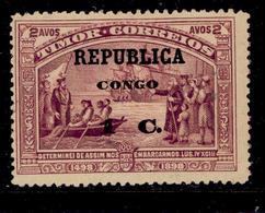 ! ! Congo - 1913 Vasco Gama On Timor 1 C - Af. 93 - MH - Congo Portugais