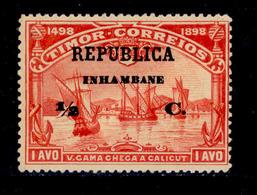 ! ! Inhambane - 1913 Vasco Gama On Timor 1/2 C - Af. 64 - MH - Inhambane