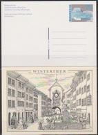 Schweiz Ganzsache1996 Nr.P 257 Ungebraucht  Stadt Und Land (PK191)günstige Versandkosten - Stamped Stationery