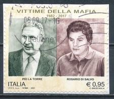 °°° ITALIA 2017 - VITTIME DELLA MAFIA °°° - 6. 1946-.. República