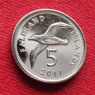 Falkland  Islands 5 Pence 2011 *V2 Bird  Malvinas Malwinen - Falkland Islands